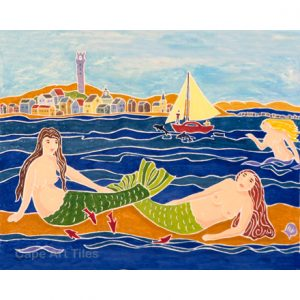 Long Point Mermaids Tile