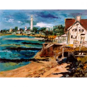 Entering Provincetown Cutting Board