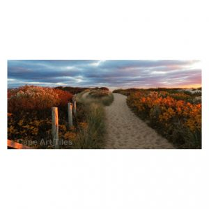 Autumn Dune Path Key Rack