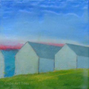Cottage (Series) Sandstone Coasters
