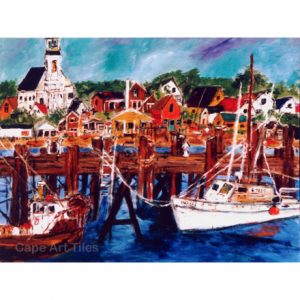 Provincetown Pastoral Cutting Board